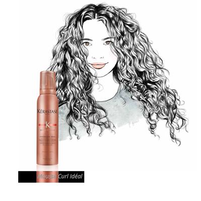 hair curl supermodel curl