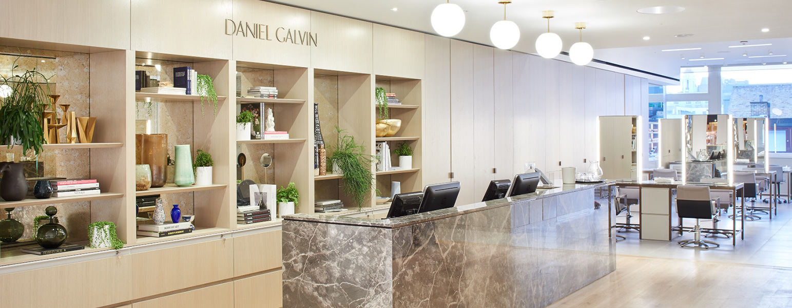 Selfridges Daniel Galvin Best Hairdressing Colour Salon London