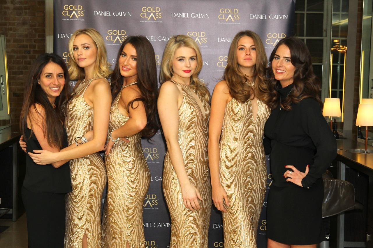 Gold Class Hair Extensions Launch At Dg Daniel Galvin