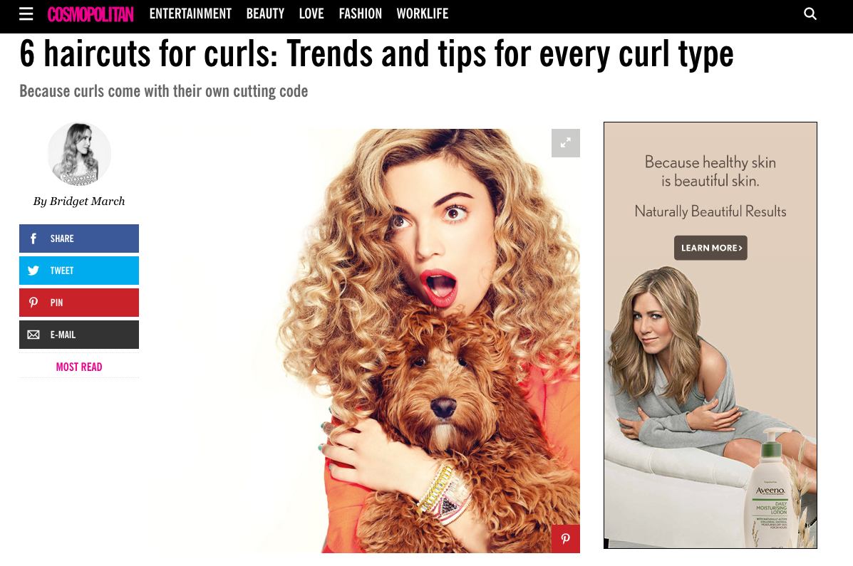 Cosmopolitan 6 Haircuts For Curls Trends And Tips For Every Curl