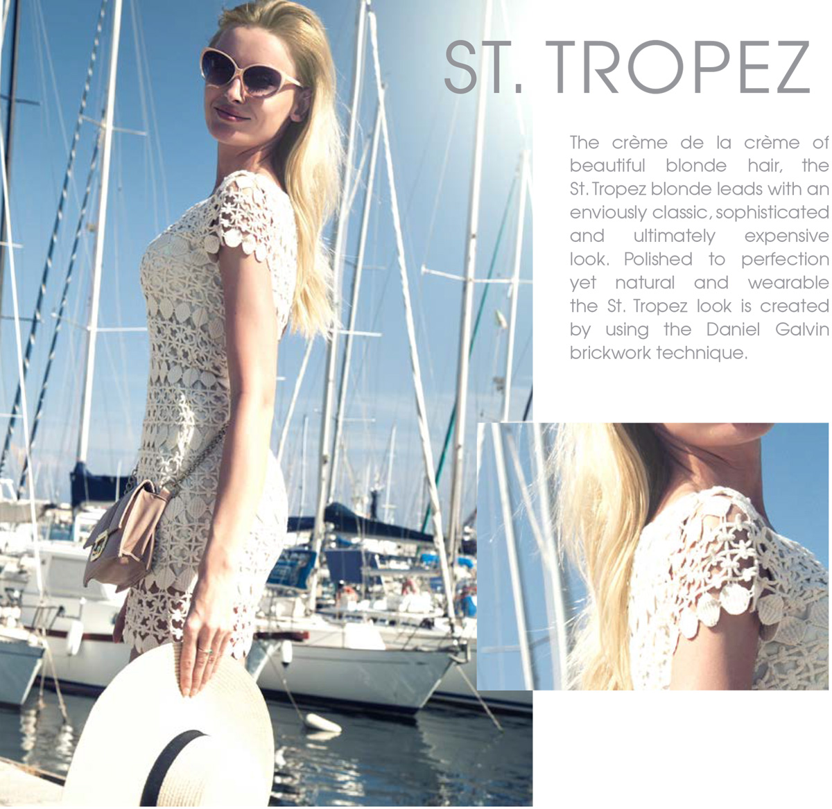 vacation blonde st tropez hair