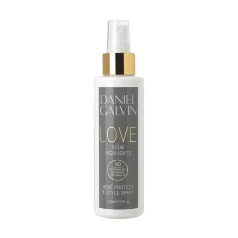 Daniel Galvin Love Highlights Heat Protect Style Spray