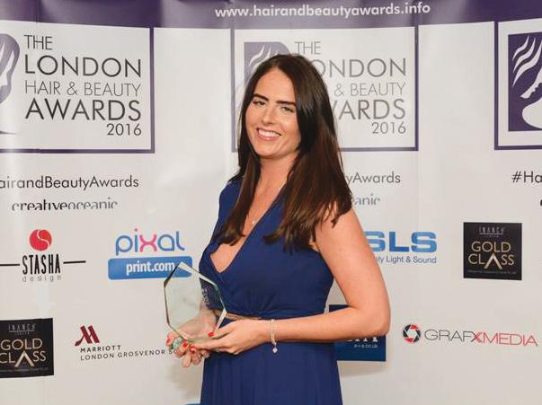 award winning hair extensionist