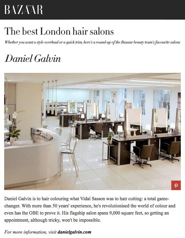 Bazaar londons best hair salons daniel galvin - London best hair salon ...