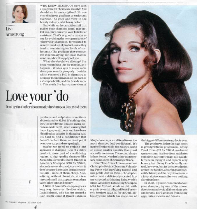 telegraph daniel galvin love your do