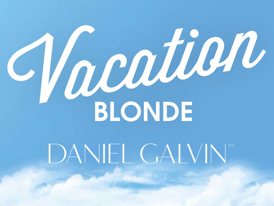 vacation blonde hair colour