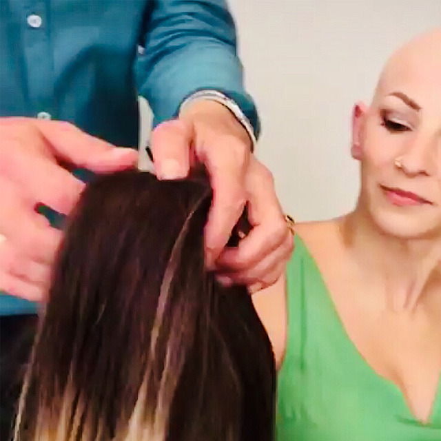 custom made wig process removal